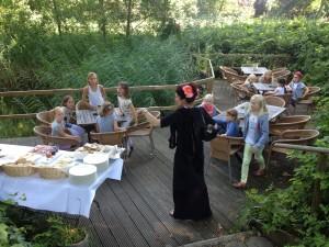 Theaterweek Kraaybeekerhof - het terras